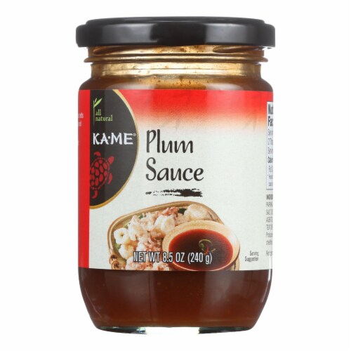 Ka'Me Plum Cooking Sauce - 8.5 oz - Case of 6 Perspective: front