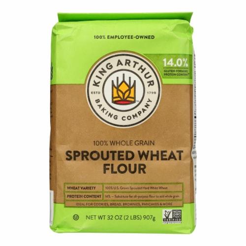 King Arthur Wheat Flour - Case of 6 - 2 lb. Perspective: front