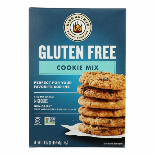 King Arthur Cookie Mix - Case of 6 - 16 oz. Perspective: front
