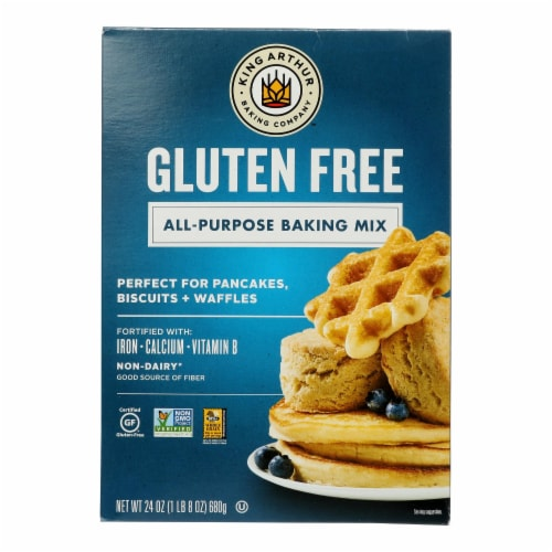 King Arthur Baking Mix - Case of 6 - 24 oz. Perspective: front