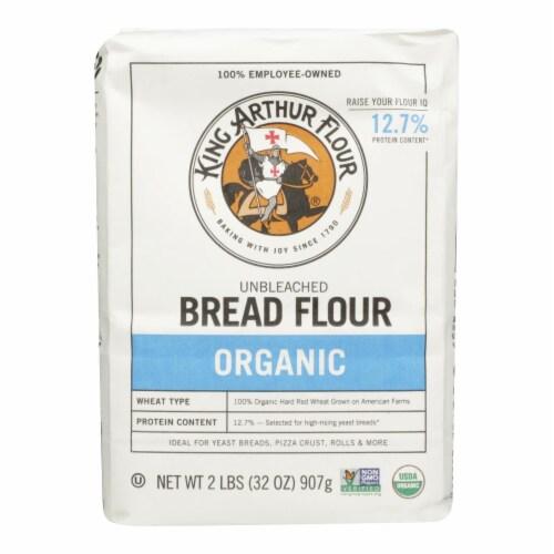 King Arthur Bread Flour - Case of 12 - 2 Perspective: front