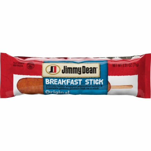 Jimmy Dean Individually Wrapped Original Turkey Breakfast Sticks, 6.275 Pound -- 1 each. Perspective: front
