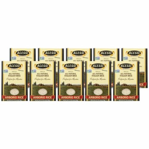 Alessi Arborio Rice - Case of 10 - 26.4 OZ Perspective: front
