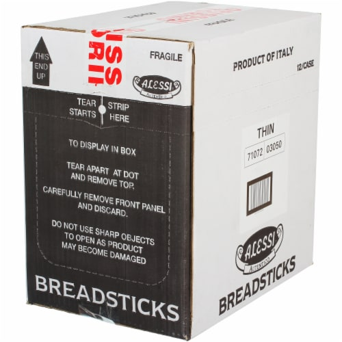 Alessi® Alessi Thin Breadsticks - 1 Each - 3 OZ Perspective: front