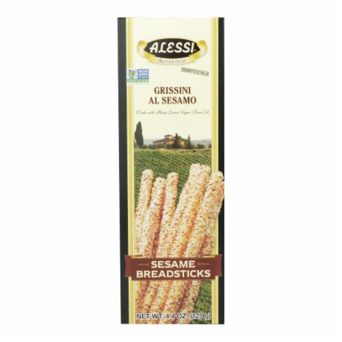 Alessi Sesame Breadstick - 1 Each - 4.4 OZ Perspective: front