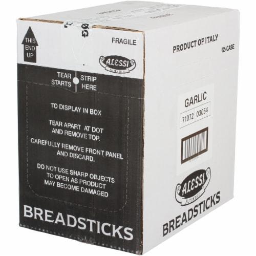 Alessi Garlic Breadsticks - 1 Each - 4.4 OZ Perspective: front