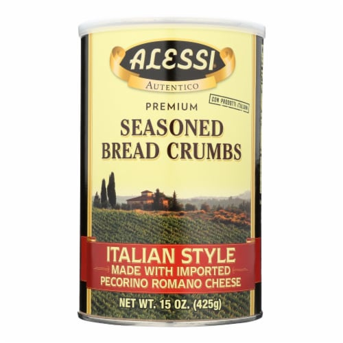 Alessi - Italian Style Made With Imported Pecorino Romano Cheese - Case Of 6 - 15 Oz Perspective: front