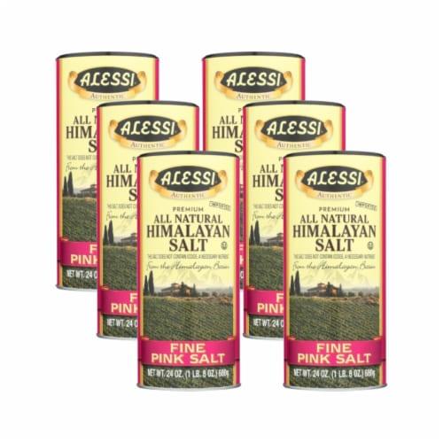 Alessi - Himalyn Salt Pink Fine - Case of 6-24 oz. Perspective: front