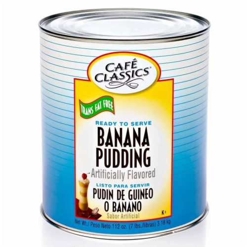 Real Fresh Trans Fat Free Banana Pudding, 7 Pound -- 6 per case. Perspective: front
