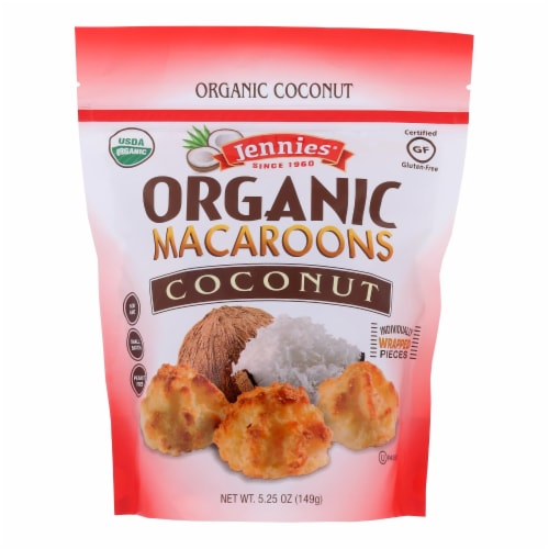 Jennies - Macaroon Coconut - Case of 6 - 5.25 OZ Perspective: front