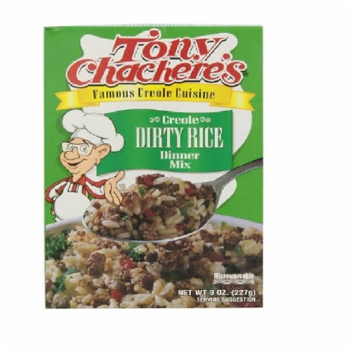 Tony Chachere's Creole Dirty Rice Dinner Mix,8oz (Pack of 12) Perspective: front