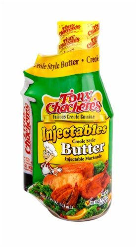Tony Chachere's® Injectables Creole Style Butter Case Perspective: front