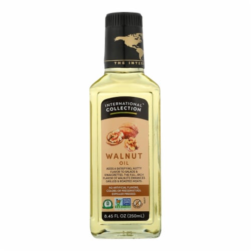 International Collection Walnut Oil - Case of 6 - 8.45 Fl oz. Perspective: front