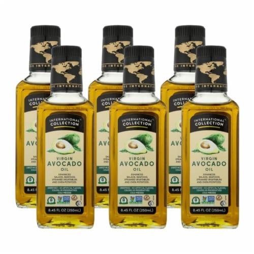 International Collection Avocado Oil - Virgin - Case of 6 - 8.45 Fl oz. Perspective: front