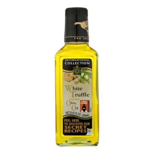 International Collection Olive Oil - White Truffle - 8.45 oz - case of 6 Perspective: front