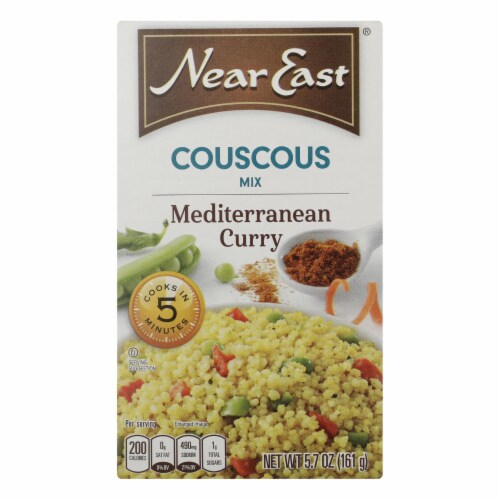 Near East Couscous Mix - Mediterranean Curry - Case of 12 - 5.7 oz. Perspective: front