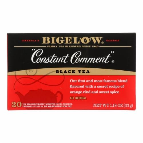 Bigelow Constant Comment Black Tea Perspective: front