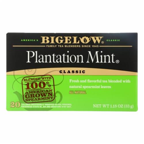 Bigelow Tea - Tea Perfectly Mint - Case of 6-20 BAG Perspective: front