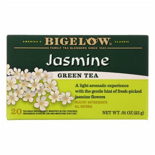 Bigelow Jasmine Green Tea Perspective: front