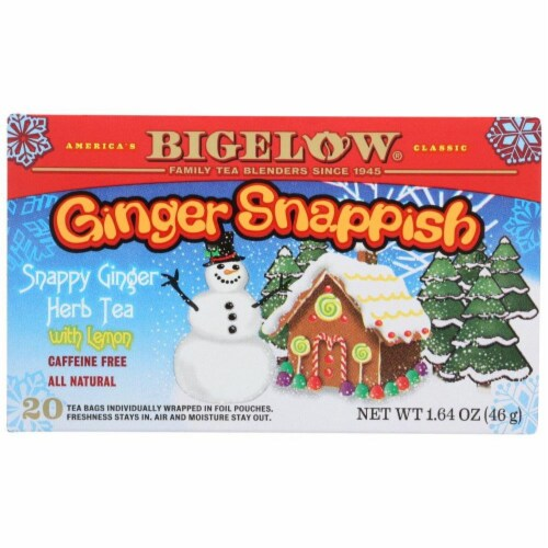Bigelow Tea Holiday Ginger Snap Perspective: front