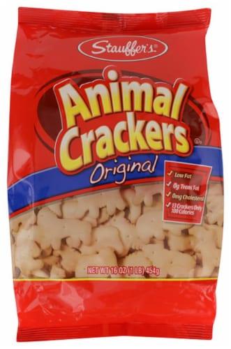 Stauffer's Animal Crackers Orginal 16oz Pk 12 Perspective: front
