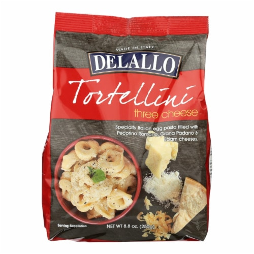 DeLallo Three Cheese Tortelini Perspective: front