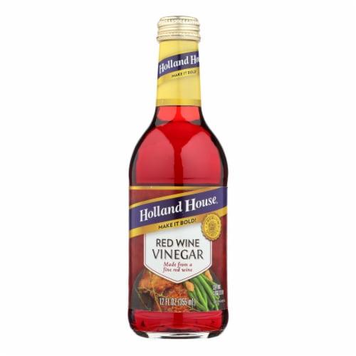 Holland House Holland House Red Wine Vinegar - Vinegar - Case of 6 - 12 Fl oz. Perspective: front