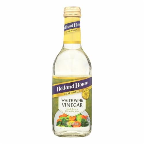 Holland House Holland House White Wine Vinegar - Vinegar - Case of 6 - 12 Fl oz. Perspective: front