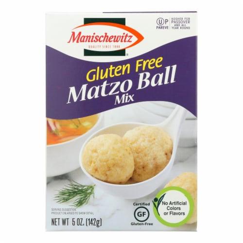Manischewitz Gluten Free Matzo Ball Mix  - Case of 12 - 5 OZ Perspective: front