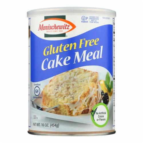 Manischewitz - Cake Meal Gluten Free - Case of 12-16 OZ Perspective: front