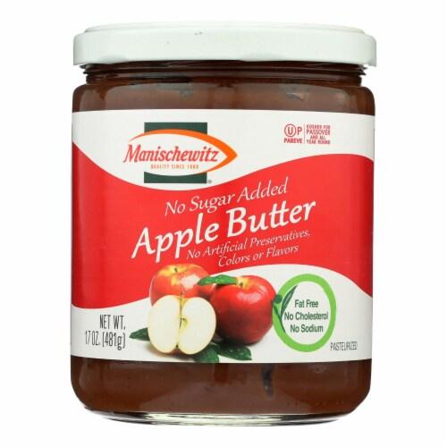 Manischewitz Apple Butter - Case of 6 - 17 OZ Perspective: front