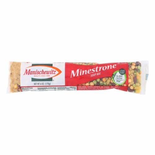 Manischewitz - Minestrone Cello Soup Mix - Case of 24 - 6 oz. Perspective: front