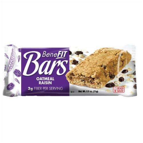 Readi-Bake BeneFIT Bars, Oatmeal Raisin, 2.5 Ounce,  48 per case Perspective: front