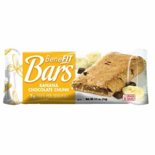 Readi-Bake BeneFIT Bars, Banana Chocolate Chunk, 2.5 Ounce, 48 per case Perspective: front