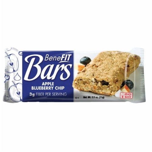 Readi-Bake BeneFIT Bars, Apple Blueberry Chip, 2.5 Ounce, 48 per case Perspective: front