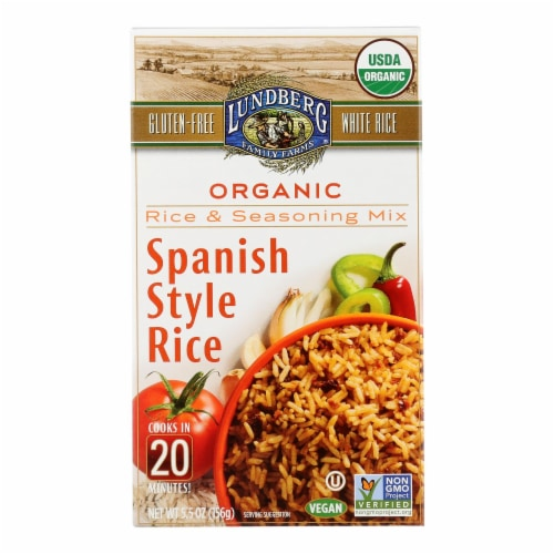 Lundberg Family Farms - Rice and Seasoning Mix - Spanish Style - Case of 6 - 5.50 oz. Perspective: front
