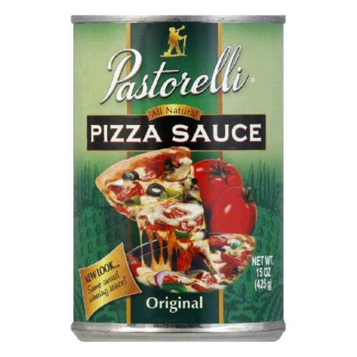 Pastorelli Pizza Sauce Italian Chef, 15 OZ (Pack of 12) Perspective: front