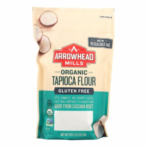 Arrowhead Mills - Organic Tapica Flour - Case of 6 - 18 oz. Perspective: front