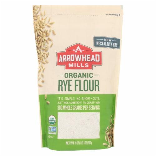 Arrowhead Mills - Organic Ret Flour - Case of 6 - 20 oz. Perspective: front