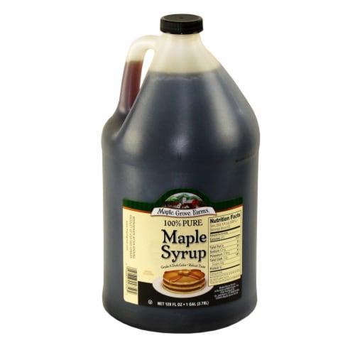 Maple Grove Farms Maple Syrup, 1 Gallon -- 4 per case Perspective: front