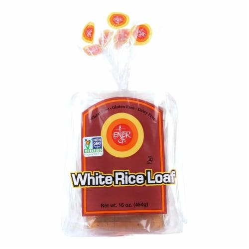Ener-G Foods - Loaf - White Rice - 16 oz - case of 6 Perspective: front