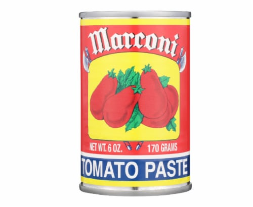 Marconi Tomato Paste,6 oz (Pack of 48) Perspective: front