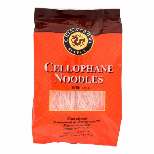 China Bowl - Noodles - Cello - Case of 6 - 3.75 oz Perspective: front