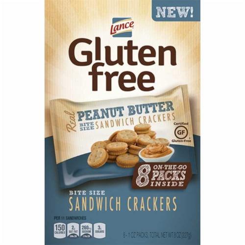 Lance Gluten Free Peanut Butter Sandwich Cracker, 1 Ounce -- 32 per case. Perspective: front
