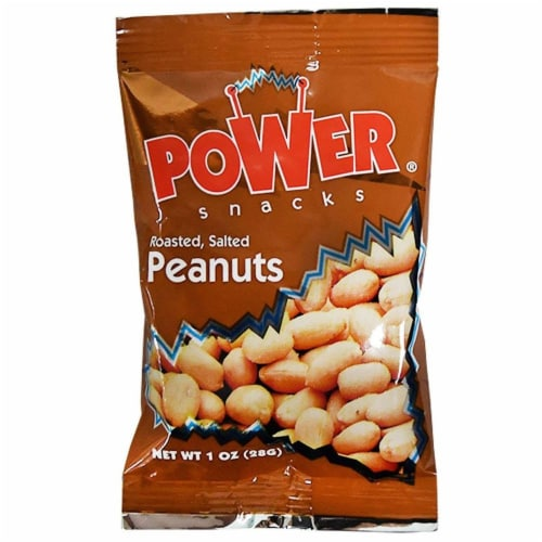 Azar Nut Roasted, Salted Power Snack Peanut, 1 Ounce -- 150 Per Case. Perspective: front