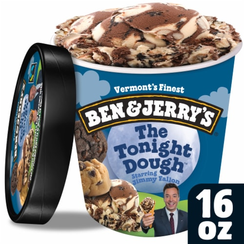 Ben & Jerry's, The Tonight Dough Ice Cream, Pint (8 Count) Perspective: front