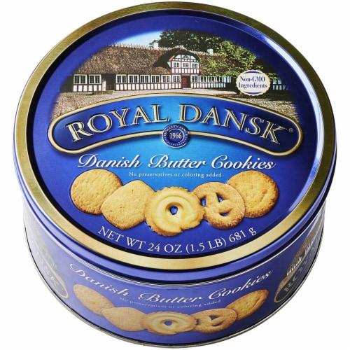 Royal Dansk Danish Butter Cookies Perspective: front
