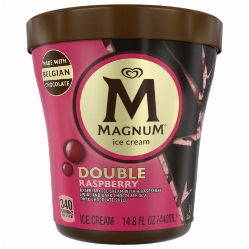 Magnum Double Raspberry Ice Cream Perspective: front