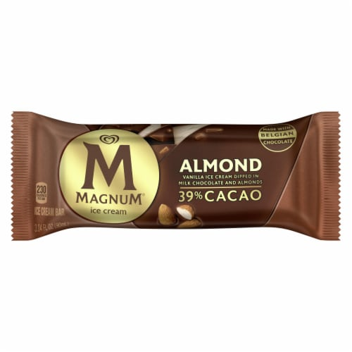 Magnum® Almond Ice Cream Bars Perspective: front