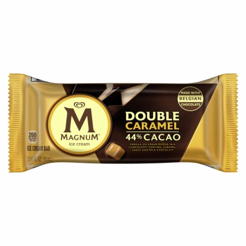 Magnum® Double Caramel Ice Cream Bars Perspective: front